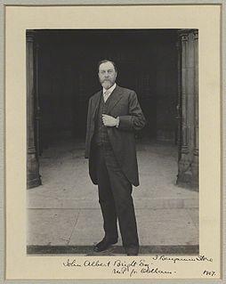 John Albert Bright British politician