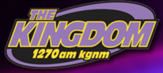 KGNM - Old station logo