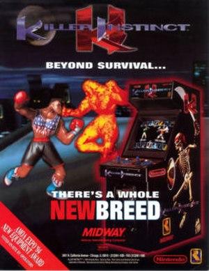 Killer Instinct (1994 video game) - Arcade flyer for Killer Instinct