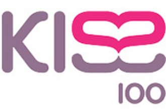 Kiss (UK radio station) - Kiss 100's logo from 1999 to 2006.