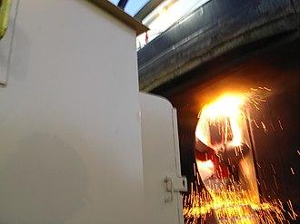 Jeffboat - Jeffboat Marine Repair - Kort nozzle repair