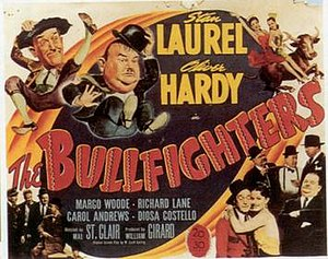 The Bullfighters - Theatrical poster for The Bullfighters (1945)