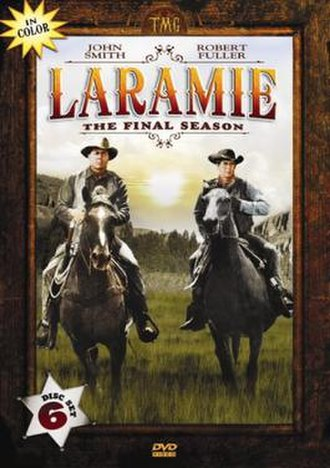 Laramie (TV series) - Laramie DVD Cover