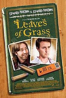 <i>Leaves of Grass</i> (film) 2009 film by Tim Blake Nelson