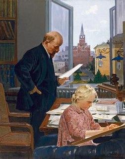 painting by Nikolai Baskakov