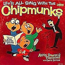 1961 reissue, utilizing the animated makeovers for The Alvin Show