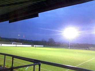 Liversedge F.C. - Image: Liversedge Floodlit