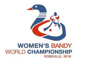 2016 Women's Bandy World Championship - Image: Logo 2016 women bandy wc