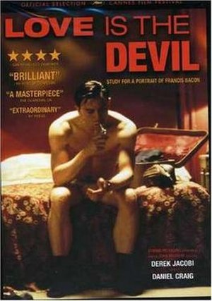 Love Is the Devil: Study for a Portrait of Francis Bacon - DVD Cover