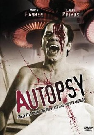 Autopsy (1975 film) - Theatrical film poster