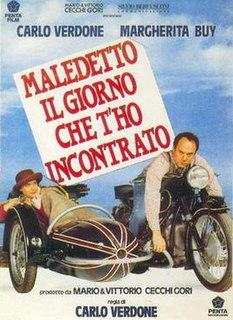 <i>Maledetto il giorno che tho incontrato</i> 1992 film by Carlo Verdone