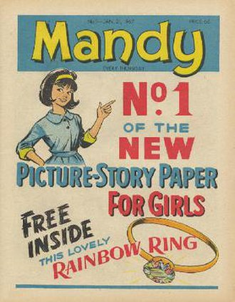 Mandy (comics) - First issue of Mandy, 21 January 1967