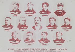 Chambersburg Maroons - Image: Maroons 1895