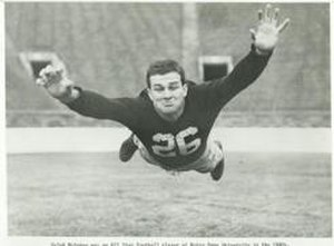 Ralph McGehee - McGehee playing football for University of Notre Dame