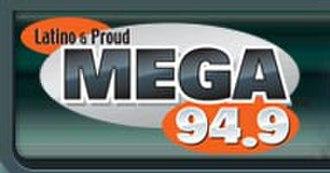 WZTU - Logo for Mega 94.9, 2005-2007