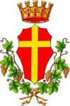 Coat of arms of Messina ( Sicila-Italia)