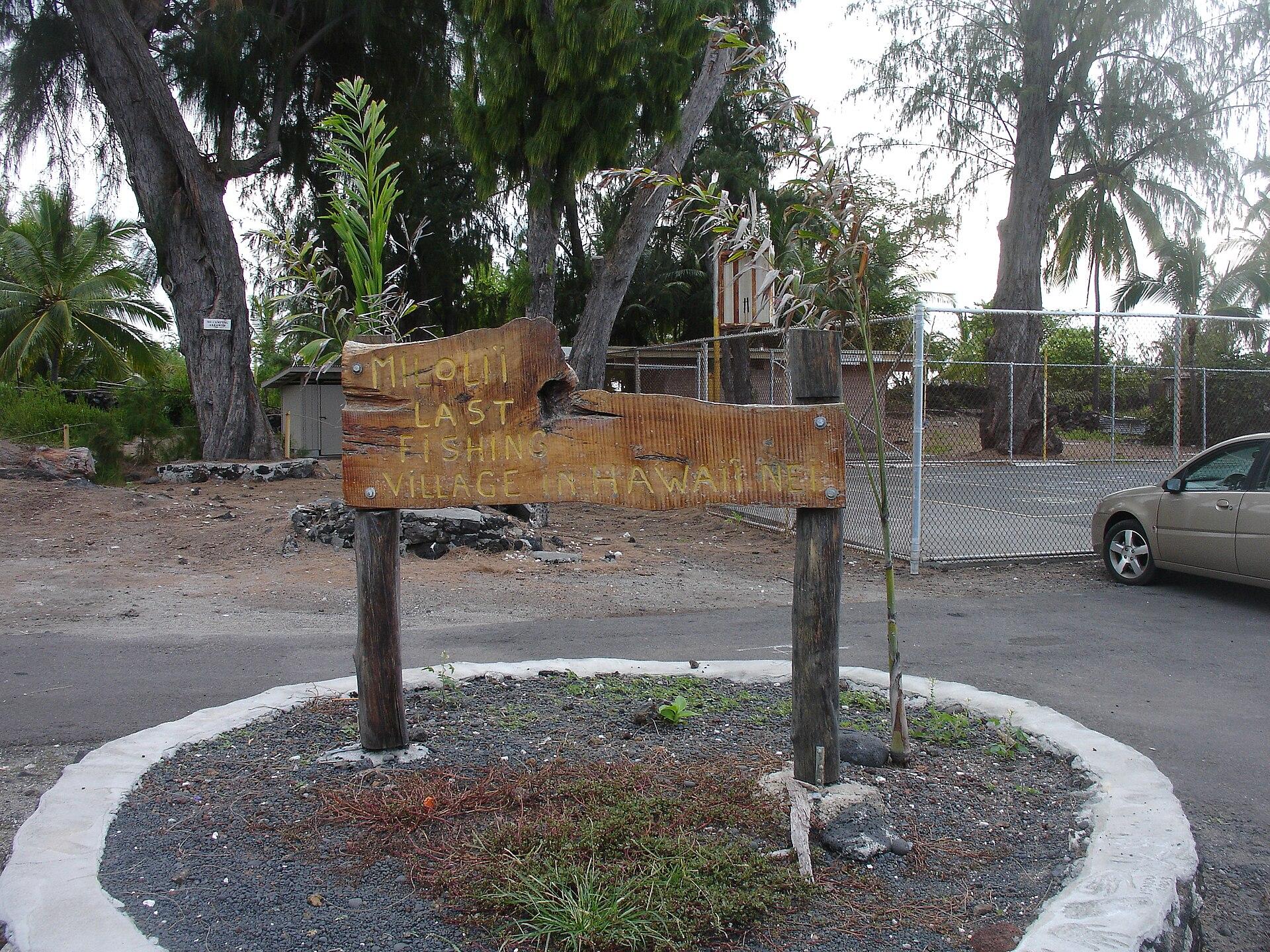 Milolii Hawaii Wikipedia