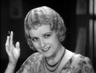 June Marlowe - Marlowe in her signature role of Miss Crabtree from the 1930 Our Gang short  School's Out.