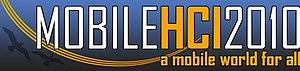 MobileHCI - Logo of MobileHCI 2010
