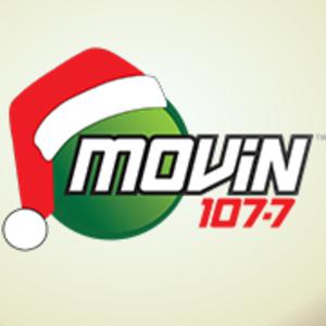 WMOV-FM - WMOV-FM Logo during Christmas music format from 2013-present
