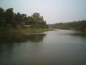 Thodupuzha River - Image: Muvattupuzha Where Three Rivers Meet