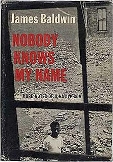 <i>Nobody Knows My Name</i> book by James Baldwin