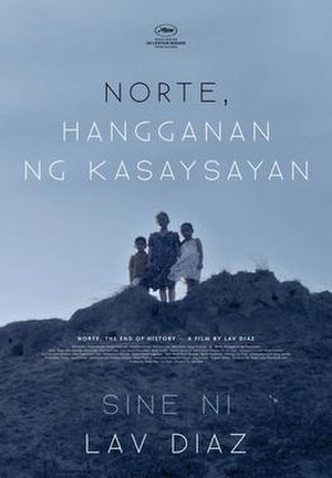 Norte, the End of History - Philippine theatrical release poster
