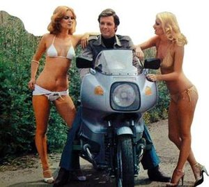 Return of the Saint - Ian Ogilvy starred as The Saint