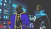 A future Static from the Justice League Unlimited series
