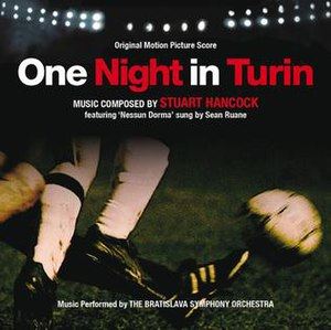 One Night in Turin (Original Motion Picture Score) - Image: One Night in Turin CD cover
