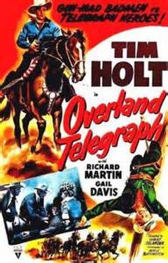 Overland Telegraph (film) - Theatrical poster