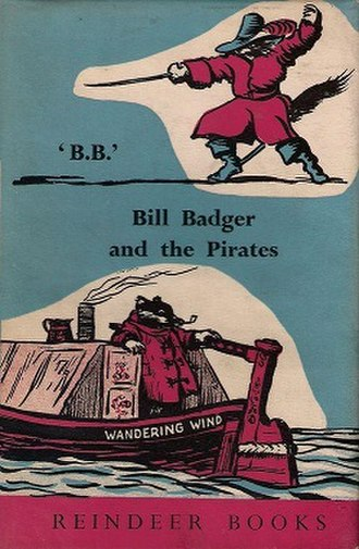 Bill Badger and the Pirates - First edition cover