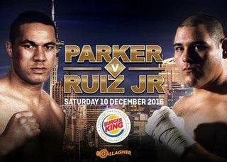 Joseph Parker vs. Andy Ruiz Jr. Boxing competition