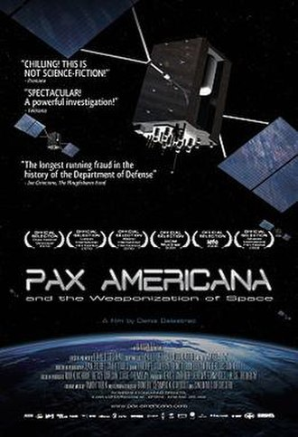 Pax Americana and the Weaponization of Space - Image: Pax americana