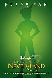 <i>Return to Never Land</i> 2002 US animated film