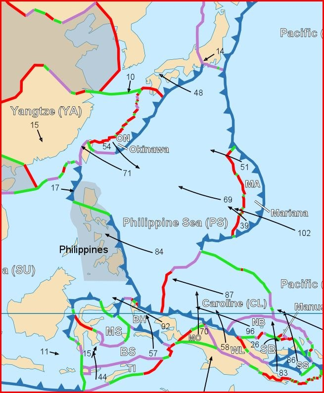Philippine Sea plate