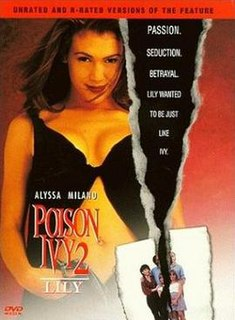 <i>Poison Ivy II: Lily</i> 1996 thriller film directed by Anne Goursaud
