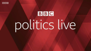 <i>Politics Live</i> British political television programme