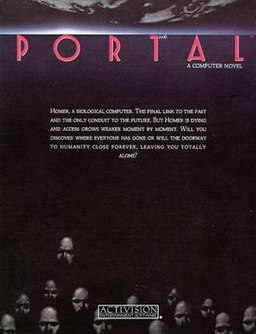 Cover artwork for Portal (interactive novel)