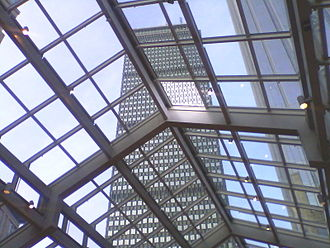 The Shops at Prudential Center - Image: Prudential Tower Boston 2012