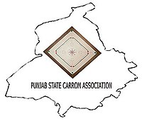 Punjab state carrom association's Logo.jpg