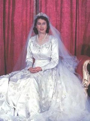 Wedding dress of Elizabeth II