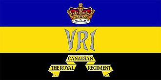 The Royal Canadian Regiment - The camp flag of The RCR.