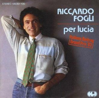 Per Lucia - Image: Riccardofogli Per Lucia