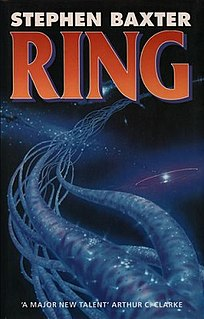 <i>Ring</i> (Baxter novel) 1994 science fiction novel by Stephen Baxter