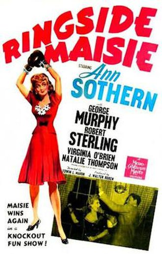 Ringside Maisie - Theatrical Film Poster