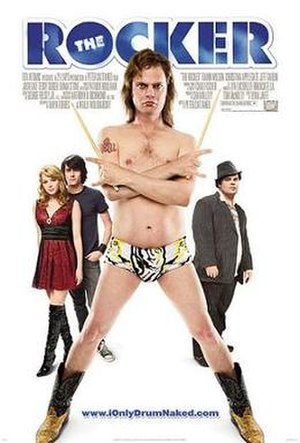 The Rocker (film) - Theatrical release poster