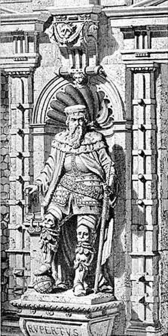 History of Heidelberg University - Rupert I founded Heidelberg University in 1386