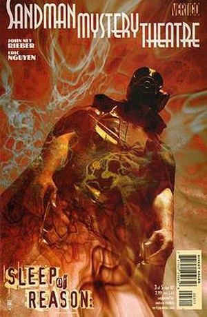 Sandman (DC Comics) - Image: SMTVSR Cv 3