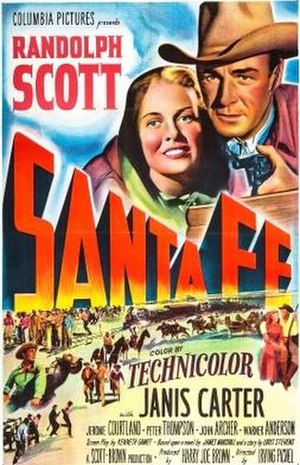 Santa Fe (film) - Theatrical release poster